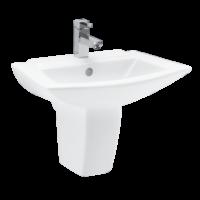 Basin - Half Pedestal
